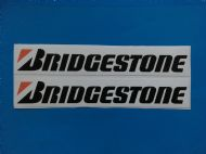 BRIDGESTONE stickers/decals x2